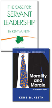 The Case for Servant Leadership and Morality and Morale: A Business